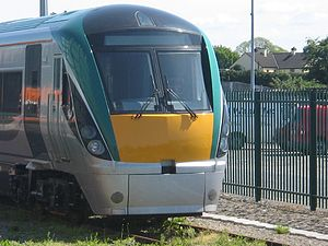 IE 22000 Class - A 22000 at Limerick station