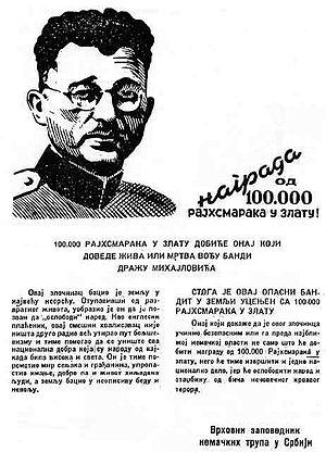 Operation Mihailovic - Image: D Mihailovic poternica