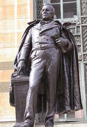 Statue of President Millard Fillmore, a Buffal...