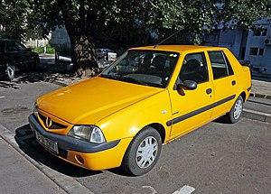 Dacia Solenza - Image: Dacia in Bucharest 2