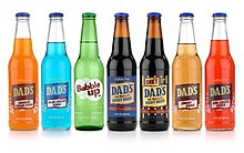 Dad's Root Beer Glass Bottles