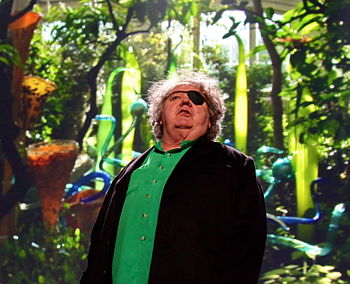 Dale Chihuly at TED 2010.