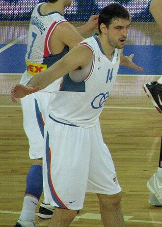 Dalibor Bagarić - Dalibor Bagarić with Cibona in 2010.