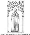 Dalle tumulaire de frère Pierre d'Auxonne. XIVe siècle.png