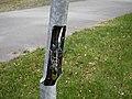 Damaged dangerous street light pole 20180524.jpg