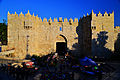 Damascus gate in sunset.JPG