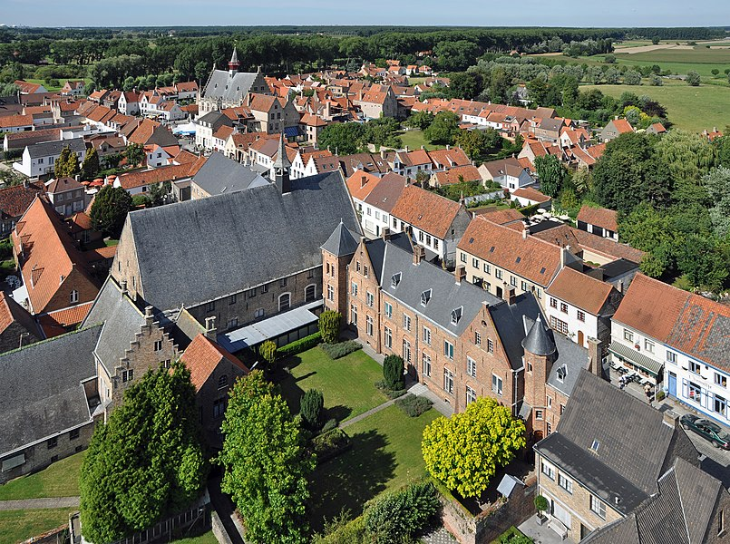 Damme (province of West Flanders, Belgium): general view of the town