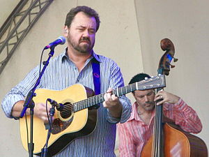 Barry Bales - Barry Bales (right) with Dan Tyminski (left)