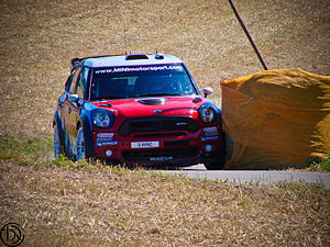 2011 World Rally Championship - The Mini factory team returned to rallying with the John Cooper Works WRC.