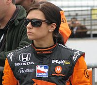 Danica Patrick 2009 Indy 500 Pole Day.JPG