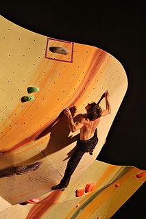 Daniel Woods American rock climber