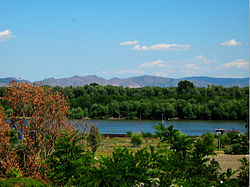 Danube at Braila -- Macin mountains in the background.jpg
