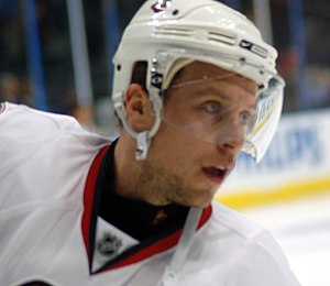 Dany Heatley - Heatley as a member of the Senators