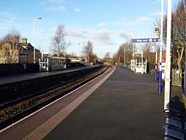 Darwen railway station Dec 2014 - looking North.jpg