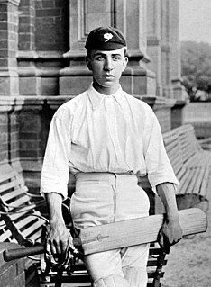David Denton (cricketer) Cricket player of England.