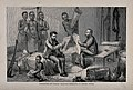 David Livingstone and Henry Morton Stanley, in central Afric Wellcome V0018837.jpg