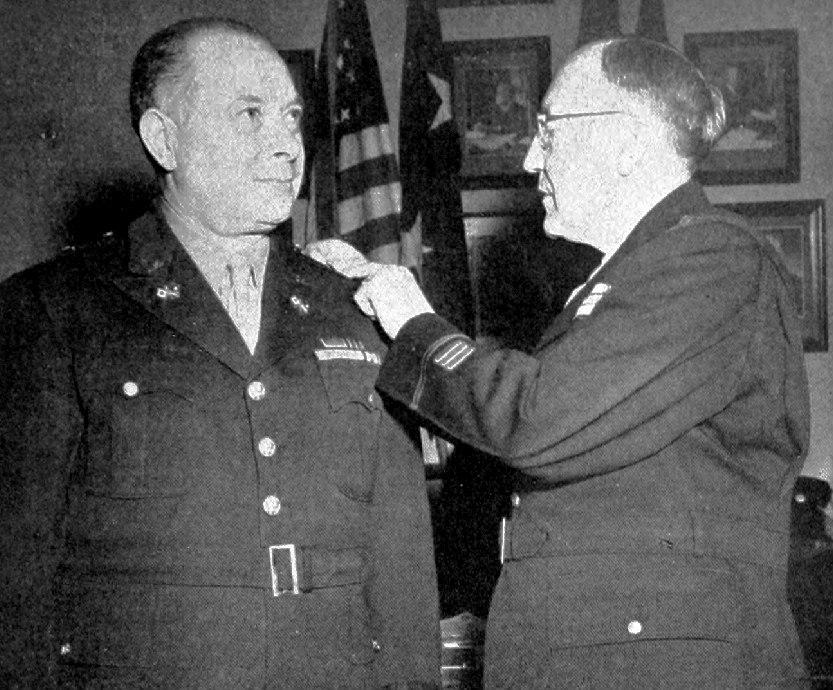 David Sarnoff becomes brigadier general 1945