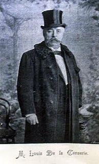 Louis Delacenserie Belgian architect