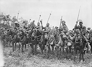 Indian Cavalry Corps order of battle in the First World War - Indian Cavalry in France 1916