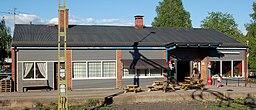 Degerfors jernbanestation