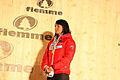 Dekoracja medalowa biegu na 30 km kobiet - Marit Bjørgen (2).jpg