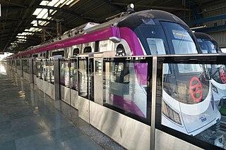 Delhi Metro Rapid transit system in India serving Delhi and surrounding region