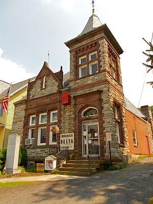 Delta, Pennsylvania - The Borough Hall