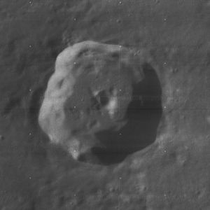 Democritus (crater)