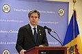 Deputy Secretary Blinken Delivers Remarks at a Meet and Greet at Embassy Chisinau (16498349617).jpg
