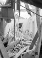 Der zerstörte Dachstock des Hauses Theurillat - CH-BAR - 3240420.tif