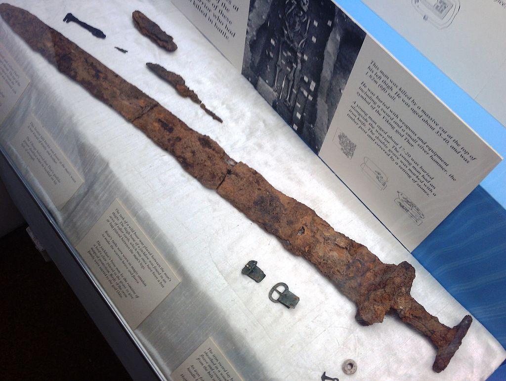 Derby Museum Viking Sword