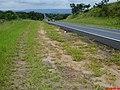Descida de Santa Cruz da Esperança - SP-333, Vendo ao fundo as Montanhas de Serrana - panoramio.jpg
