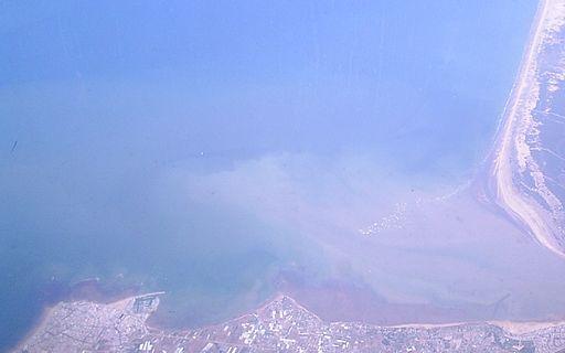 Desembocadura del Guadalquivir - Vista aérea