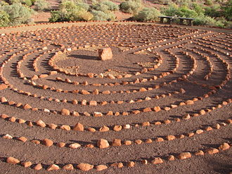 Ivins, Utah - Desert Rose Labyrinth