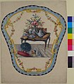 Design for a Firescreen with a Table with a Vase of Flowers, Books, and Teapot MET 66.551.29.jpg