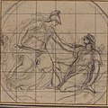 Design for a Medallion- Huntress Kneeling before an Armed Goddess MET 1979.10.4.jpg