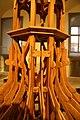 Detail 2 of rafter of Třebíč city tower at Herzán - stavitelský rod z Třebíče exhibition in Muzeum Vysočiny in Třebíč, Třebíč District.jpg