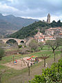 Devil's Bridge & tower at Olargues.jpg