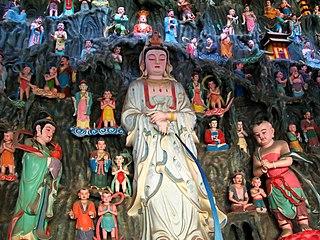 Longnü acolyte of the bodhisattva Avalokiteśvara in Chinese Buddhism, daughter of the Dragon King