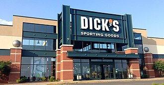 Dick's Sporting Goods - Exterior of a store in Manchester, Connecticut, in 2014