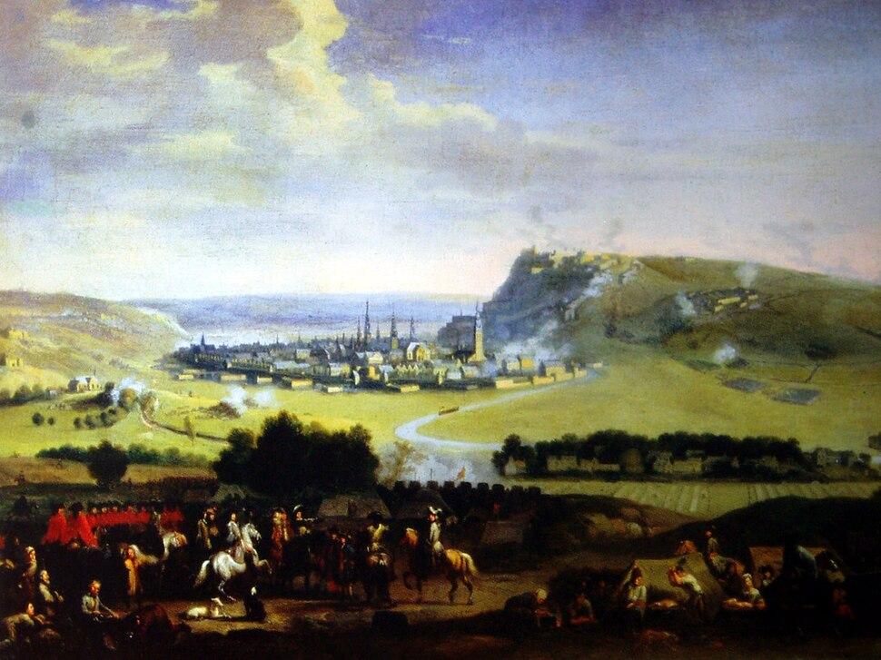Die Belagerung von Namur 1695