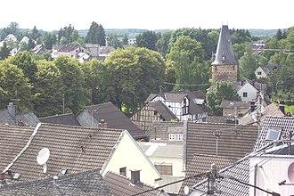 Dierdorf - Image: Dierdorf Blick vom Uhrturm