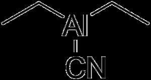 Diethylaluminium cyanide - Image: Diethylaluminium cyanide