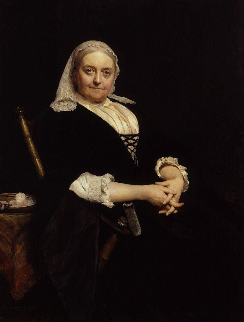 Дина Мария Крайк (урожденная Мюлок) сэра Хьюберта фон Херкомера. Jpg