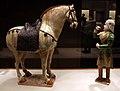Dinastia tang, cavallo e palafreniere, 700-750 ca. 02.jpg