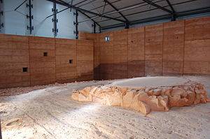 Lark Quarry Dinosaur Trackways - Tyrannosauropus, Wintonopus, and Skartopus dinosaur tracks at Lark Quarry.
