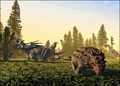 Dinosaur park formation fauna (cropped-01a).png