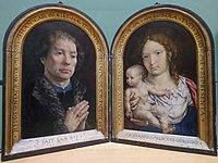 Diptyque de Jean Carondelet – Jan Mabuse – Musée du Louvre, INV 1442, INV 1443 – Q27051640.jpg