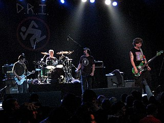 Dirty Rotten Imbeciles American crossover thrash band