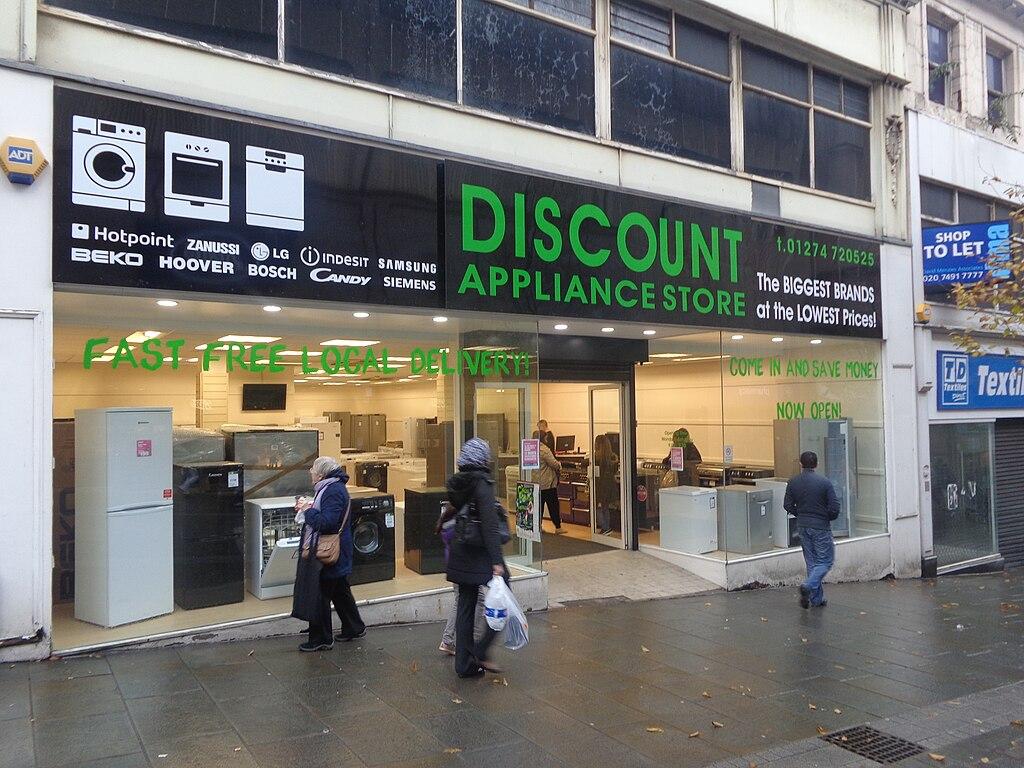 File discount appliance store darley street bradford for C furniture warehouse bradford